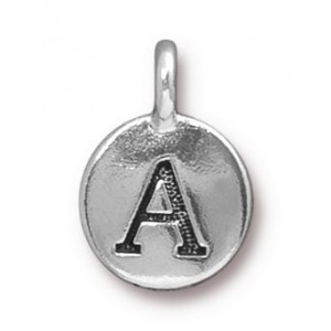 Charm A Antique Silver - Pkg of 20 TierraCast® Britannia Pewter
