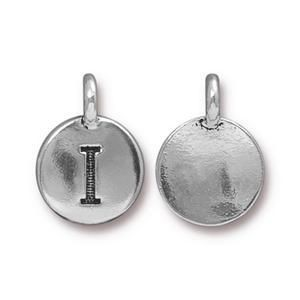 Charm I Antique Silver - Pkg of 20 TierraCast® Britannia Pewter