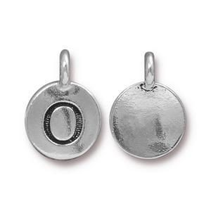 Charm O Antique Silver - Pkg of 10 TierraCast® Britannia Pewter