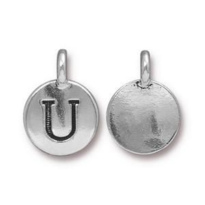 Charm U Antique Silver - Pkg of 20 TierraCast® Britannia Pewter
