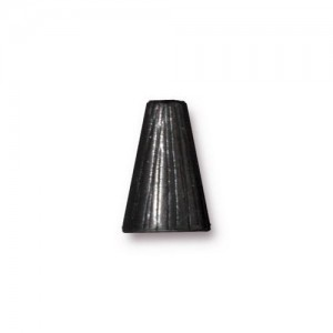 Tall Radiant Cone Black Plate - Pkg of 20 TierraCast®