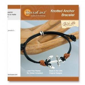 Quick Kit by TierraCast® Knotted Anchor Bracelet