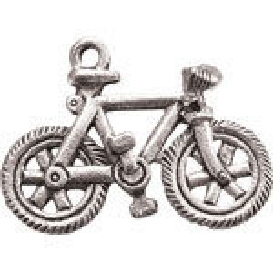 Bicycle 23x17mm - Pkg of 5 Quest Beads & Cast™ Antique Pewter