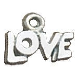 Love 10x13mm 2-Sided - Pkg of 20 Quest Beads & Cast™ Antique Pewter