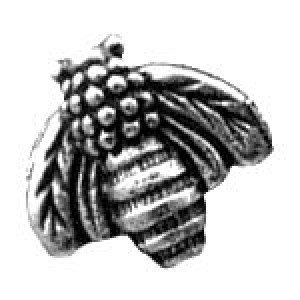 Bee Bead 10.5x10mm - Pkg of 10 Quest Beads & Cast™ Antique Pewter