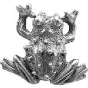Frog Bead 16x13.5mm - Pkg of 5 Quest Beads & Cast™ Antique Pewter