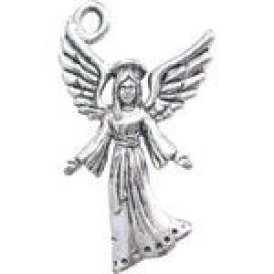 Angel 29x18mm 2-Sided - Pkg of 5 Quest Beads & Cast™ Antique Pewter