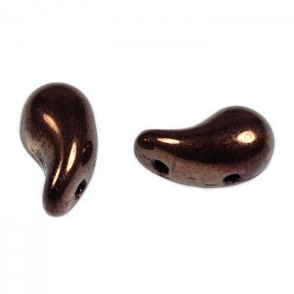 Zoliduo Bead 5x8mm Left Side Dark Bronze (300pc)